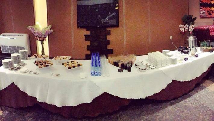 Actitour Armenia -ի կողմից կազմակերպած սեմինարի սուրճի ընդմիջումը ( coffee break) մեր հյուրանոցում: